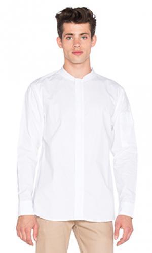 Рубашка с длинными рукавами flight I Love Ugly. Цвет: белый