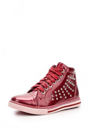 Ботинки Totta. Цвет: красный
