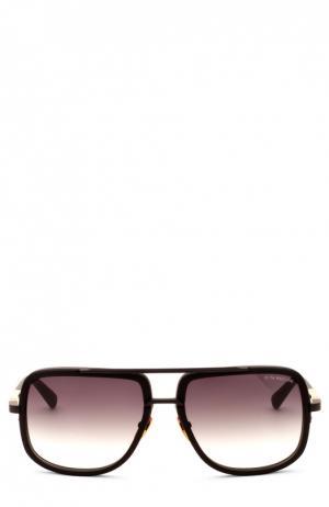 Солнцезащитные очки Dita. Цвет: бесцветный