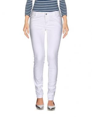 Джинсовые брюки JCOLOR. Цвет: белый