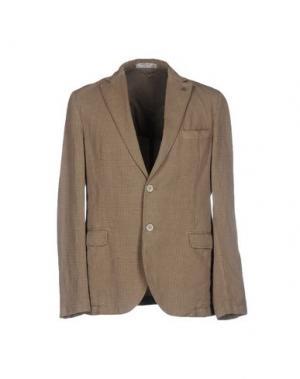 Пиджак MANUEL RITZ WHITE. Цвет: песочный