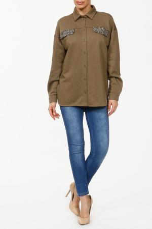 Комплект с брюками Relax Mode. Цвет: джинсовый