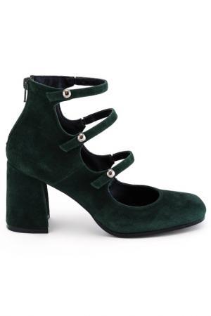 Туфли FORMENTINI. Цвет: зеленый