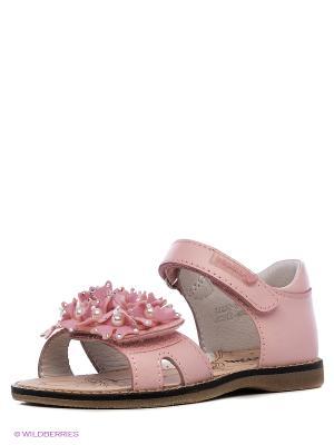 Балетки Kapika. Цвет: розовый, серый