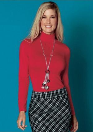 Кофточка Aniston. Цвет: красный, розово-сиреневый, серый меланжевый, цвет белой шерсти, черный