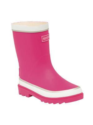 Резиновые сапоги REGATTA. Цвет: розовый, белый