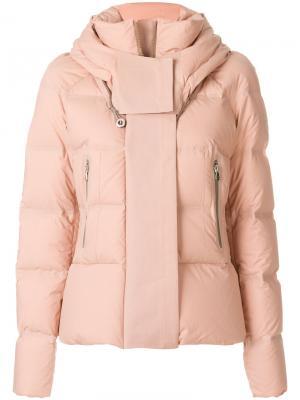 Дутая куртка Peuterey. Цвет: телесный