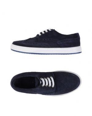 Низкие кеды и кроссовки AT.P.CO. Цвет: темно-синий