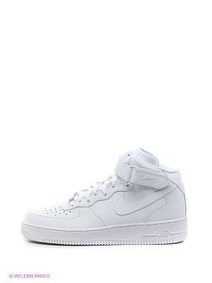 Сникеры AIR FORCE 1 MID 07 Nike. Цвет: белый