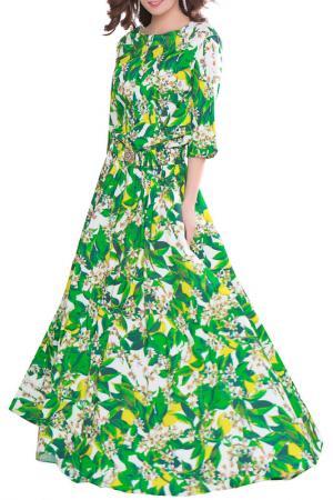 Платье Olivegrey. Цвет: молочно-зеленый