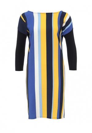 Платье United Colors of Benetton. Цвет: синий