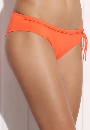 - Summer Solids Трусики-бикини с плетеными деталями Оранжевый Watercult