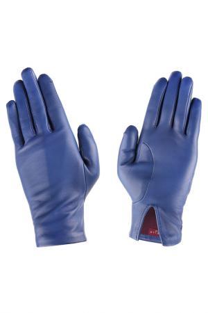 Перчатки Agnelle. Цвет: синий