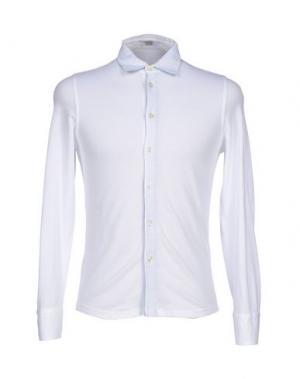 Pубашка VALDOGLIO. Цвет: белый