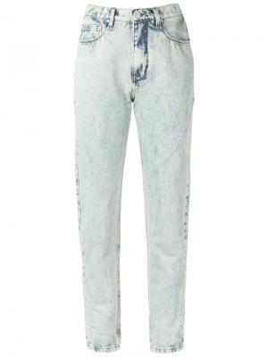 High waisted skinny jeans Amapô. Цвет: синий