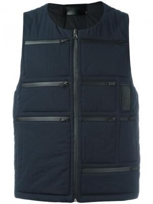 Куртка на молнии Letasca. Цвет: синий