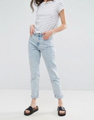 Waven Джинсы в винтажном стиле Elsa. Цвет: синий