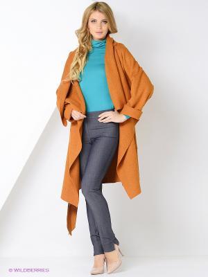 Пальто Mammi. Цвет: коричневый