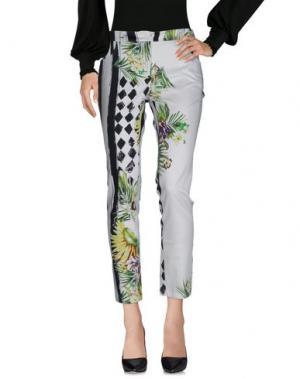 Повседневные брюки SONIA FORTUNA. Цвет: белый