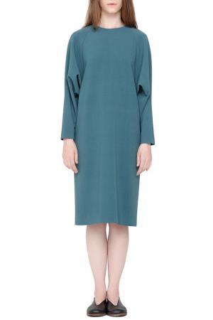 Платье Cyrille Gassiline. Цвет: бирюзовый