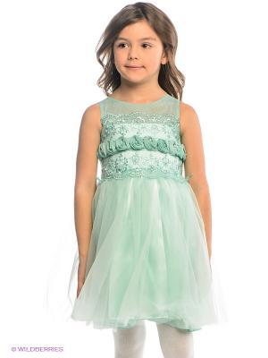 Платье ERKUT. Цвет: светло-зеленый