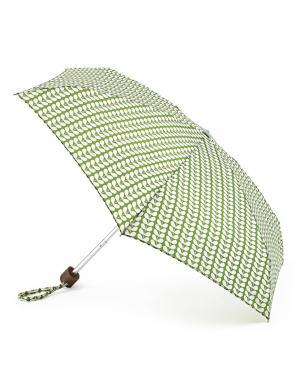 Зонт механический Листья зеленые  by Fulton Orla Kiely. Цвет: зеленый