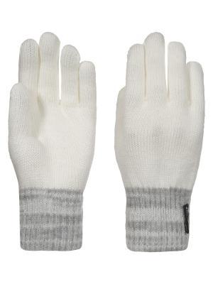 Перчатки Icepeak. Цвет: белый