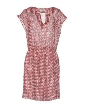 Короткое платье BELLA JONES. Цвет: пурпурный