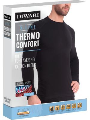 Термолонгслив DiWaRi. Цвет: черный