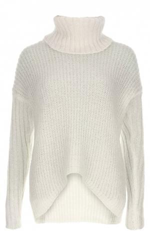 Вязаный пуловер Deha. Цвет: кремовый