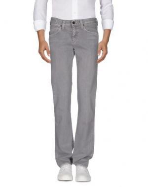 Джинсовые брюки SEAL KAY INDEPENDENT. Цвет: серый
