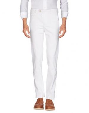 Повседневные брюки PIATTO. Цвет: белый