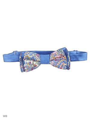 Галстук-бабочка Magnetiq. Цвет: голубой, бледно-розовый