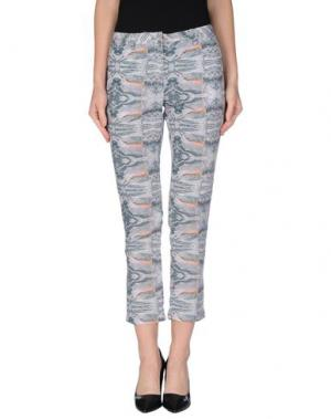 Повседневные брюки LOT 78. Цвет: сиреневый