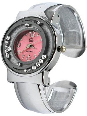 Часы Taya. Цвет: серебристый, розовый