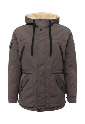 Куртка утепленная Xaska. Цвет: серый