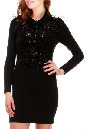 Платье Faust. Цвет: черный