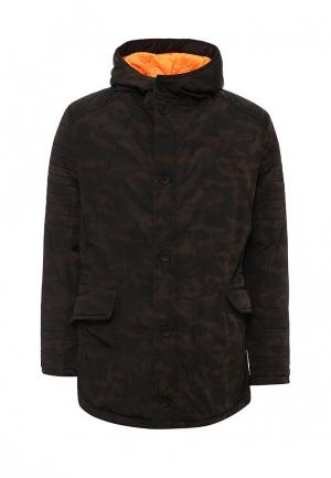 Куртка утепленная Young & Rich. Цвет: коричневый