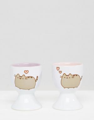 Pusheen Подставки для яиц. Цвет: мульти
