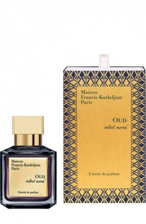 Парфюмерный экстракт Oud Velvet Mood Maison Francis Kurkdjian. Цвет: бесцветный