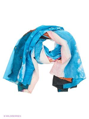 Парео текстильное Vittorio Richi. Цвет: синий, оранжевый