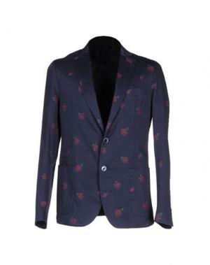 Пиджак BRANCACCIO C.. Цвет: темно-синий