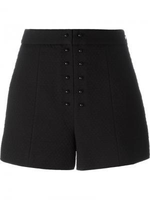 Буклированные шорты Proenza Schouler. Цвет: чёрный