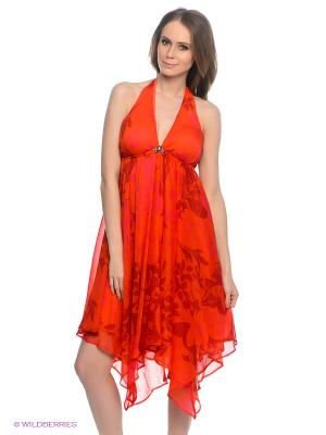 Платье TOM FARR. Цвет: красный, фуксия, бордовый
