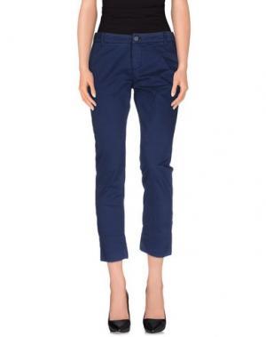 Повседневные брюки NORTH SAILS. Цвет: темно-синий
