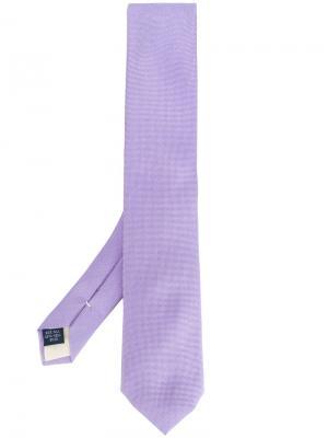 Классический галстук Fashion Clinic Timeless. Цвет: розовый и фиолетовый