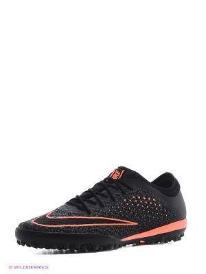 Шиповки MERCURIALX FINALE TF Nike. Цвет: черный