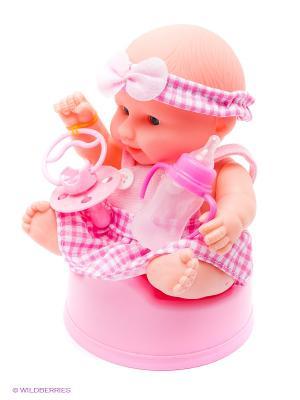 Пупс VELD-CO. Цвет: розовый