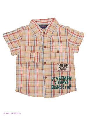 Рубашка Evita Baby. Цвет: красный