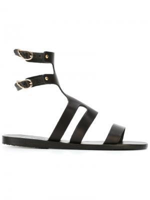 Сандалии Agapi Ancient Greek Sandals. Цвет: чёрный